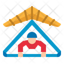 Fly Adventure Sport Icon