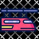 Hang Train Train Transport Icon