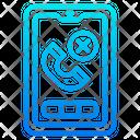 Hang Up Call Smartphone Mobilephone Icon