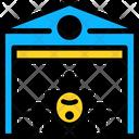 Hangar Airport Airplane Icon