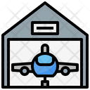 Hangar Airport Transportation Icon