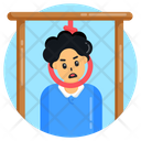 Death Rope Suicide Hanged Person Icon