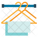 Clothes Clothing Hanger Icon