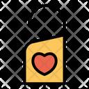 Door Knob Love Heart Icon