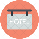 Hanging Sign Hotel Icon