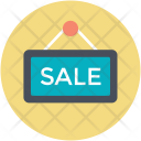 Hanging Board Sale Icon