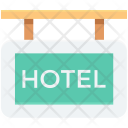 Hanging Board Hotel Icon