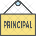 Hanging Board Principal Icon