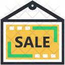 Hanging Sign Sale Icon