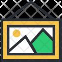 Hanging Frame Landscape Icon