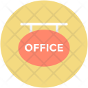 Hanging Sign Office Icon