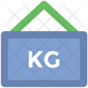 Hanging Sign Weight Icon