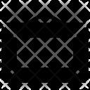 Hanging Rectangular Frame Icon