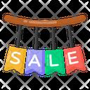 Hanging Sale Mark Sale Labels Hanging Sale Badges Icon