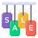 Hanging Sale Mark Hanging Sale Labels Sale Badges Icon