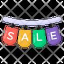 Hanging Sale Mark Sale Labels Sale Badges Icon