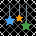 Hanging stars Icon