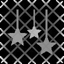 Hanging Stars Decoration Icon