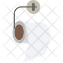 Hanging Toilet Paper Icon