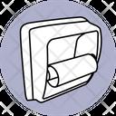 Hanging Toilet Paper Icon