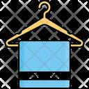 Bathroom Fabric Hanger Icon