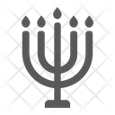 Big Menorah Rosh Icon