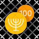 Hanukkah gelt Icon