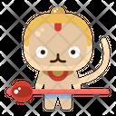 Hanuman Character Avatar Icon