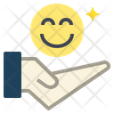 Happiness Rate Satisfied Icon