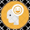 Happy Smiley Head Icon