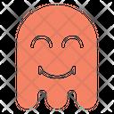 Happy Ghost Halloween Icon