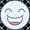 Emoji Happy Icon