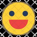 Happy Smile Feeling Icon