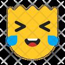 Expression Happy Fun Icon