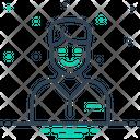 Happy Fain Jocund Icon