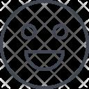 Happy Emoji Face Icon