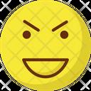 Happy Nodding Emoticons Icon