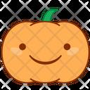 Happy Laugh Pumpkin Icon