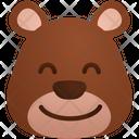 Happy Emoji Sticker Icon