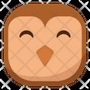 Happy Owl Icon