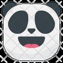 Happy Laugh Panda Icon