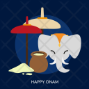 Happy Onam Day Icon