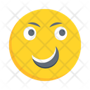 Happy Smiling Face Icon
