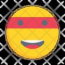 Happy Emoticon Satisfied Icon