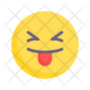 Happy Silly Tongue Out Icon