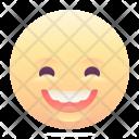 Happy Grin Emoji Icon
