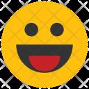 Huge Smile Emoji Icon