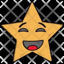 Surprised Happy Smiley Icon
