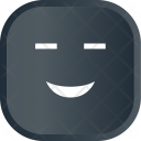 Happy Dark Smile Icon