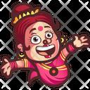 Happy Aunty Icon